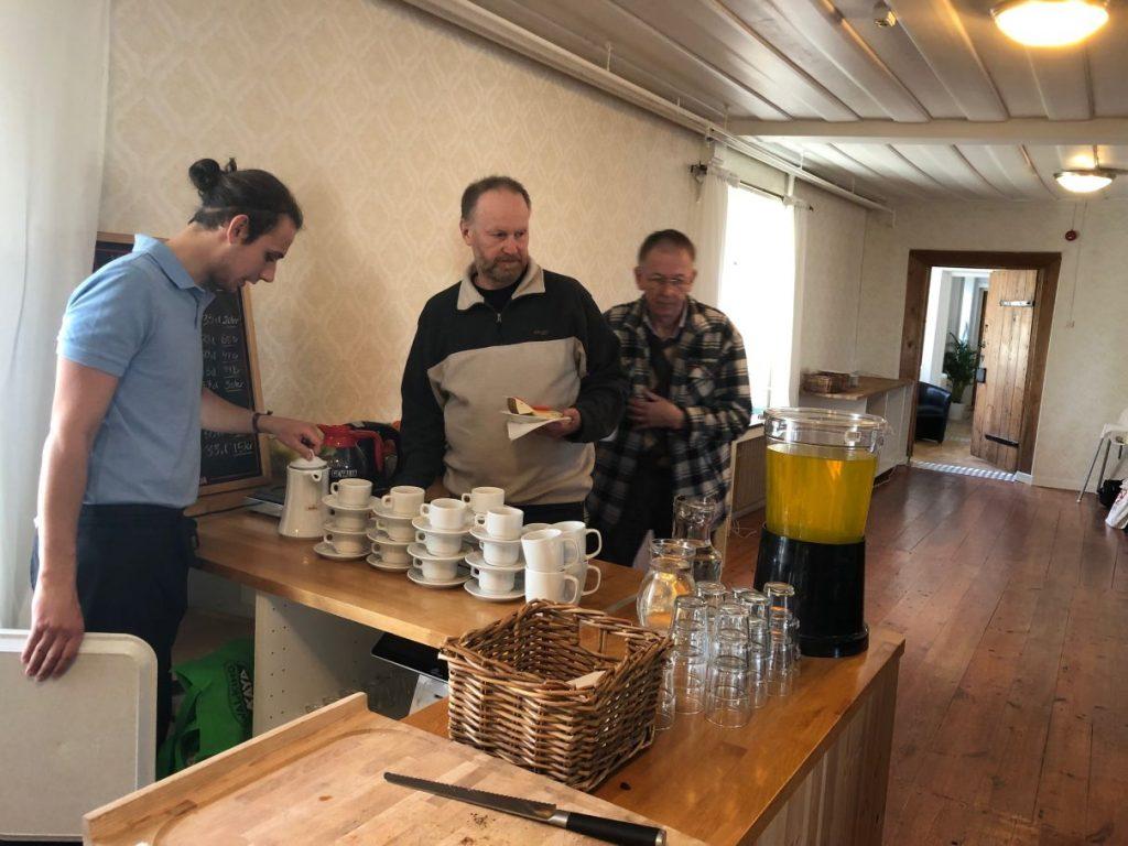 Servering, konferens